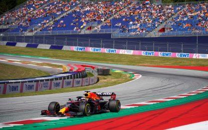 GP d'Austria 2021: la griglia di partenza ufficiale