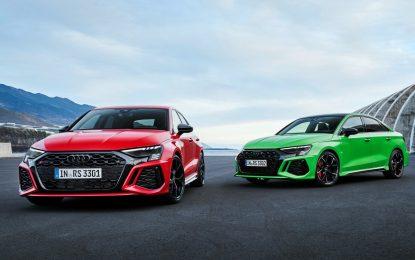 Audi RS 3: al via gli ordini dell'iconica sportiva compatta