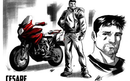 MV Agusta diventa un fumetto