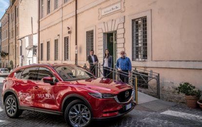 Mazda con Peter Pan per sostenere le famiglie dei bambini oncologici