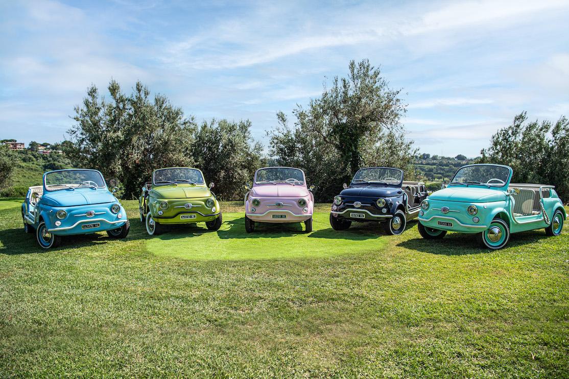 """Fiat 500 Jolly Icon-e """"Spiaggina"""" nella flotta Hertz Italia"""