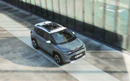 Citroën: tetto panoramico e luce per il benessere a bordo