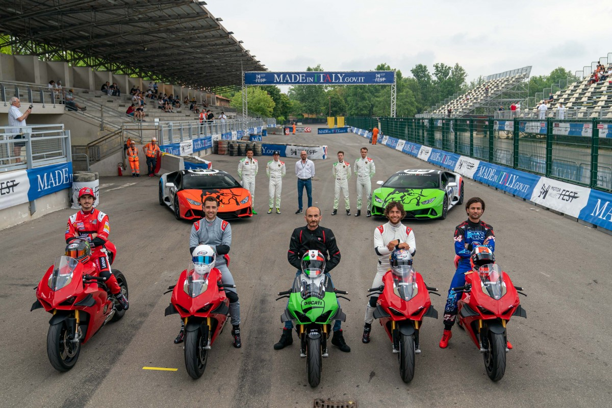 """Motor Valley Fest, """"The Race of Made in Italy"""""""