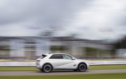 Nuova Hyundai IONIQ 5 al Goodwood Festival of Speed 2021