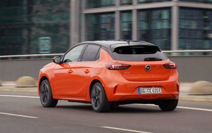 Tutta la sicurezza di Opel Corsa-e