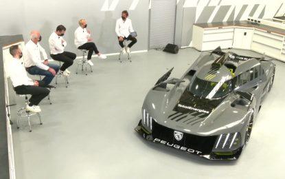 Fotogallery: Peugeot 9X8 Le Mans Hypercar Reveal