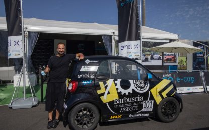Debutto per Vitantonio Liuzzi nella smart e-cup a Imola