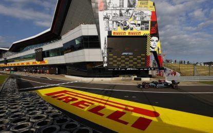 A Hamilton la prima pole per la sprint qualifying della F1 con soft C3