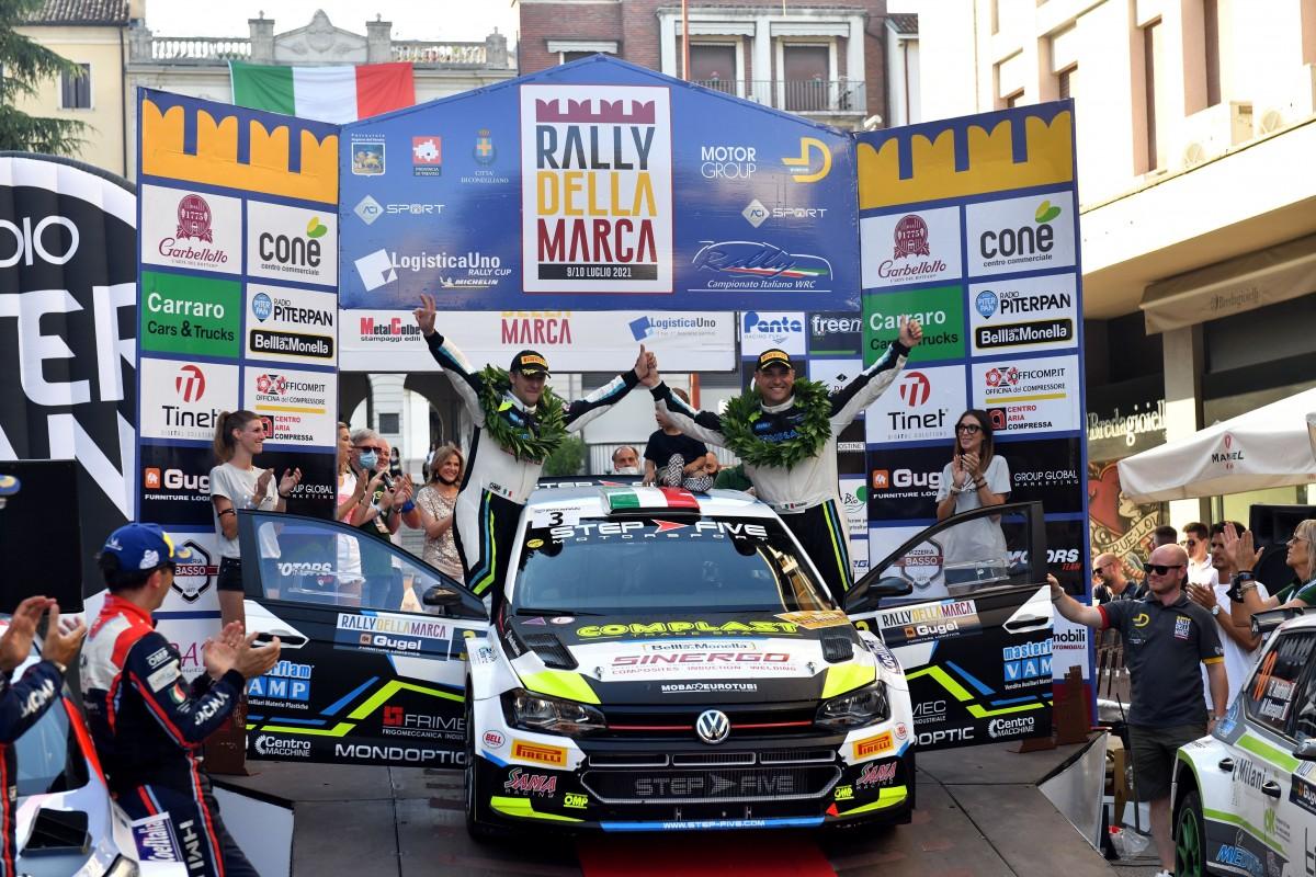 Signor-Bernardi vincitori a sorpresa del 37° Rally della Marca