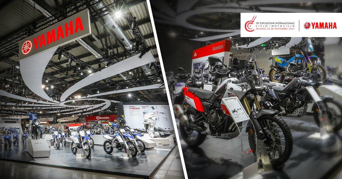 Yamaha presente a EICMA 2021